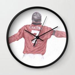 Eric Cantona Wall Clock