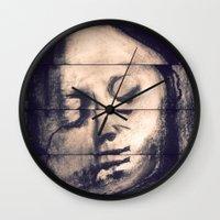 sleep Wall Clocks featuring Sleep by Wondrous Sky