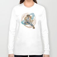 legend of korra Long Sleeve T-shirts featuring Korra by Vaahlkult