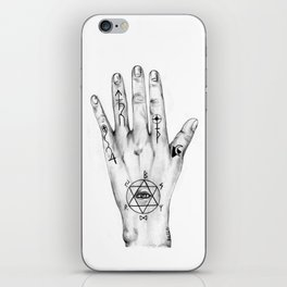 Alchemist Hand 2011 iPhone Skin