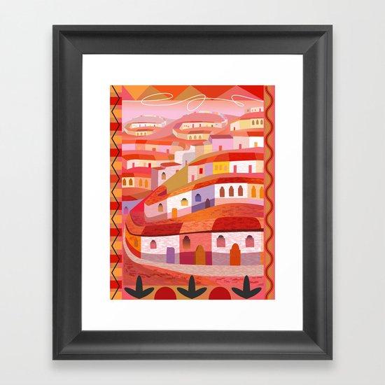Little Sonora (Vertical) Framed Art Print