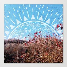 Bohemian Sunrise Canvas Print