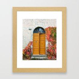 Come Inside Framed Art Print