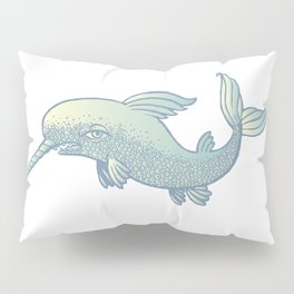 saber-toothed dolphin Pillow Sham