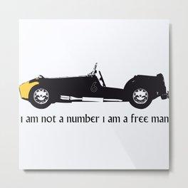 i am not a number Metal Print