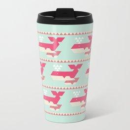 Triangwhales Metal Travel Mug