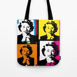 ENID BLYTON (FUNKY-COLOURED POP ART COLLAGE) Tote Bag