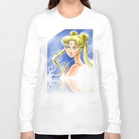 sailormoon Long Sleeve T-shirts featuring Princess Serenity by Keith Gutierrez