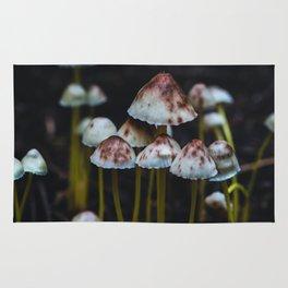 Mushrooms - Macro Forest Rug