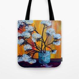 Bouquet of Cotton Tote Bag