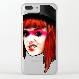 Aly Goo Clear iPhone Case