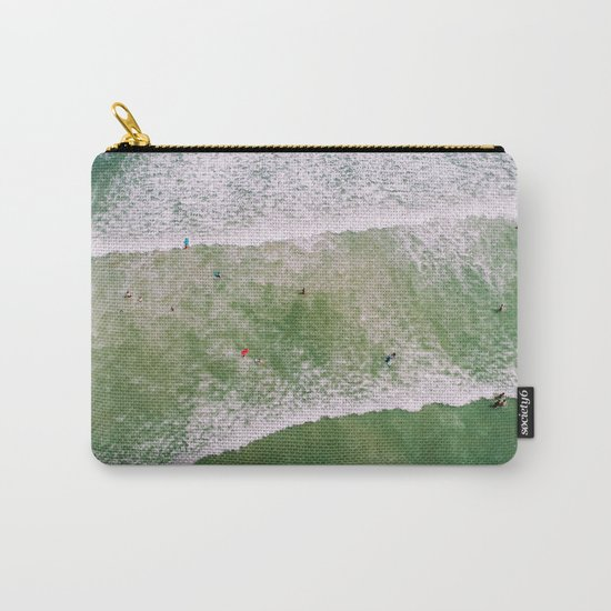 Waves bath Carry-All Pouch