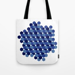 Hexagons Tote Bag