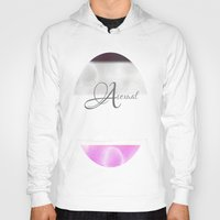 asexual Hoodies featuring Asexual pride by Adam M. Snowflake