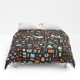 IOD Plot Pattern Comforters
