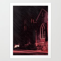 A Holy Place Art Print