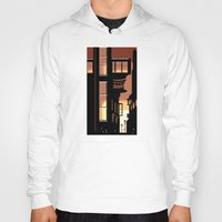 cityscape Hoodies featuring Sunrise Cityscape by Andrew Formosa
