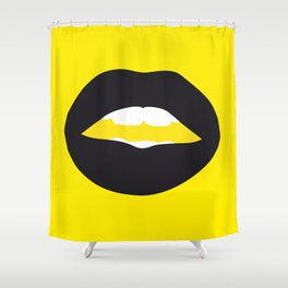 The Wasp Woman Shower Curtain