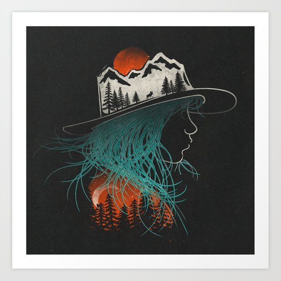 Aurora... Art Print