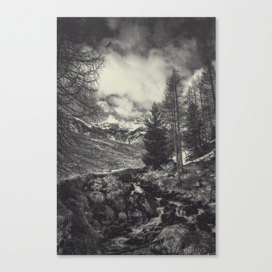timeless mountains Canvas Print