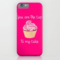 My cupcake - Pink version iPhone 6s Slim Case