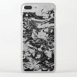 Fluid Wavelengths Clear iPhone Case