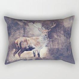 King of the Woods Rectangular Pillow