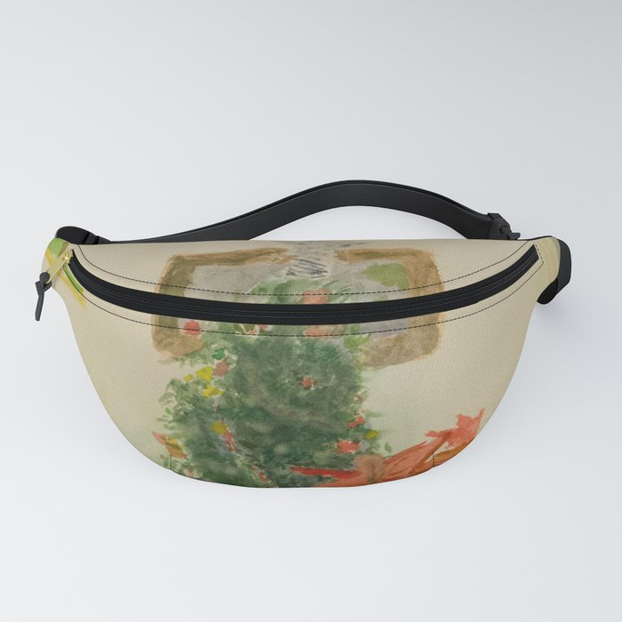 A Christmas Scene Fanny Pack