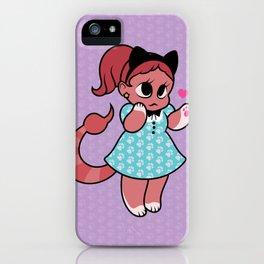 Manticore Kitten iPhone Case