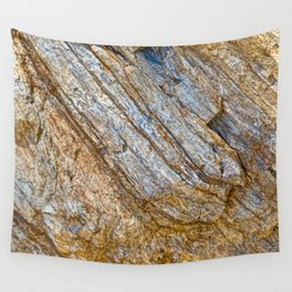 Stunning rock layers Wall Tapestry