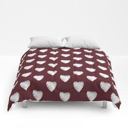 Maroon 10.7. Comforters