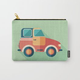 Toy Retro Car Carry-All Pouch