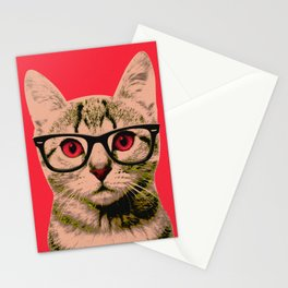 Warhol Cat 4 Stationery Cards