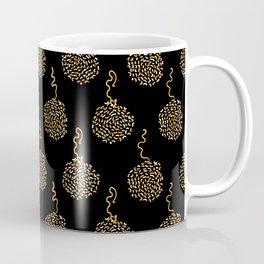Trendy Polka Dot Pompom Coffee Mug