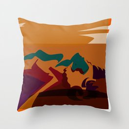nrqp Throw Pillow