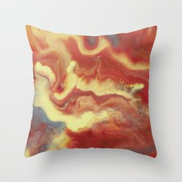 And Now I'm Nothing Throw Pillow