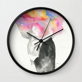 Color Me Wild Wall Clock