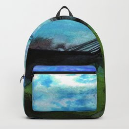 Watercolor Abstraction No.223F by Kathy Morton Stanion Backpack