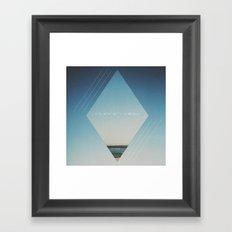 Journey High Framed Art Print