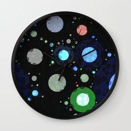 Modern Dot Abstract Design Wall Clock