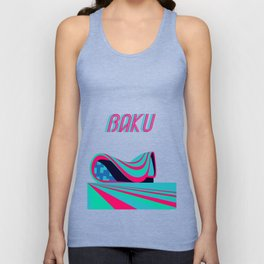Baku - Capital of Azerbaijan Unisex Tank Top