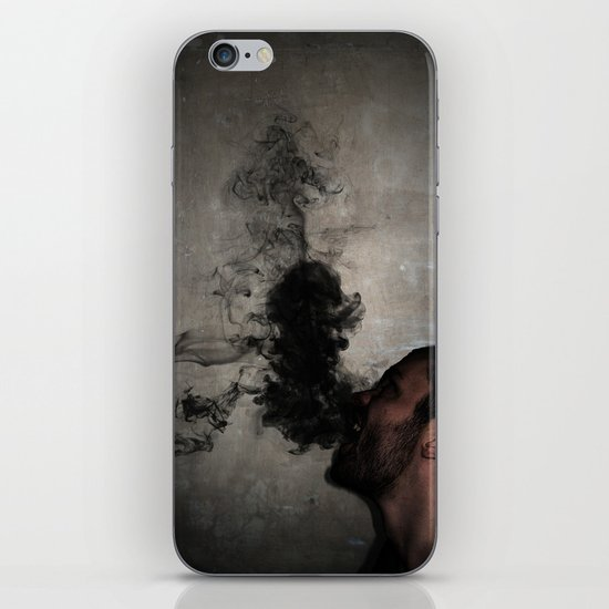 Letting the darkness out iPhone & iPod Skin