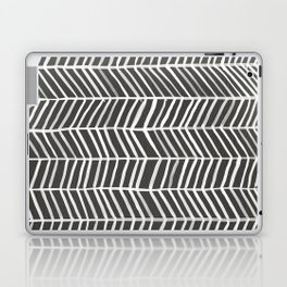 Herringbone – Black & White Laptop & iPad Skin