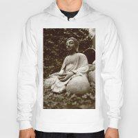 buddhism Hoodies featuring Buddha by Falko Follert Art-FF77