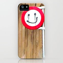 sleeping higgins iPhone Case