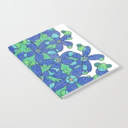 Abstract Floral #7 Notebook