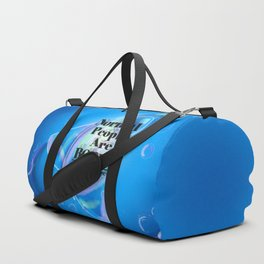 Normal People Are Boring (Bubbles) Duffle Bag