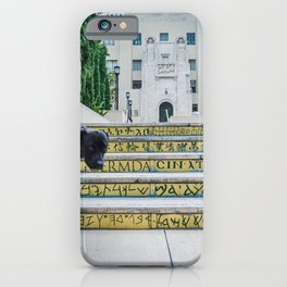 Steps of Gods or Dogs iPhone Case