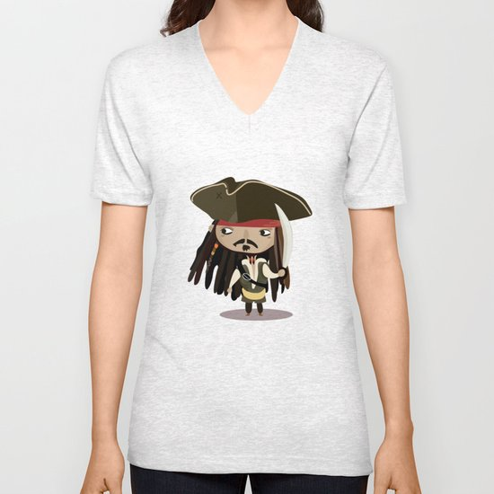 Captain Sparrow Unisex V-Neck