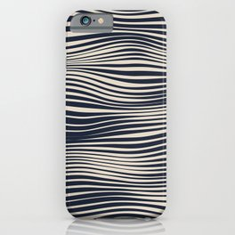 Waving Lines iPhone Case